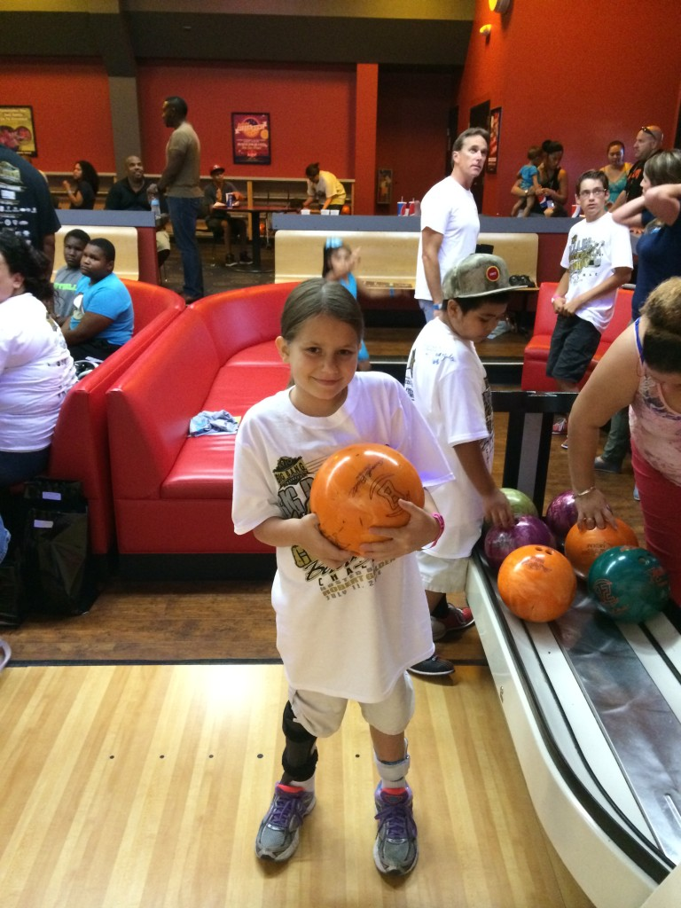 Bowling with Adaptive Sports.