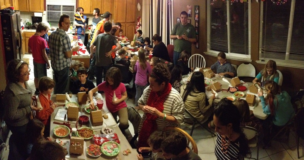 It might get hot...even in December. But the true community and fun is worth opening the windows on a cold night.