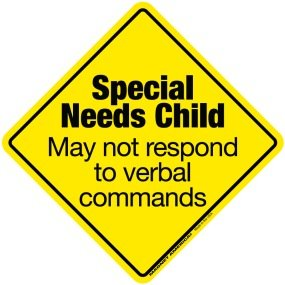 special needs sign