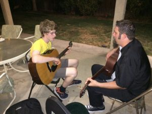 A short Friday Night guitar lesson from Jeff...the guitar guru.